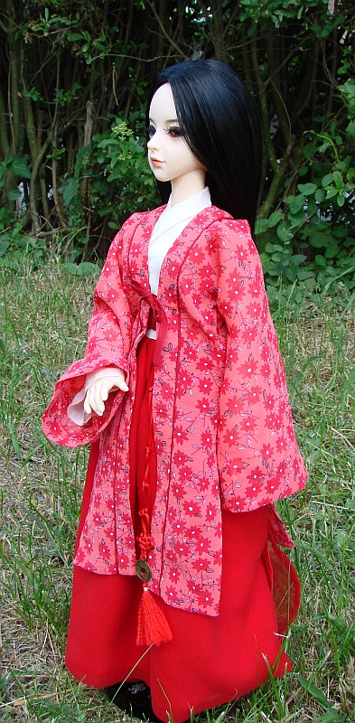 Chinese Traditional Cistume Hanfu For Fiume