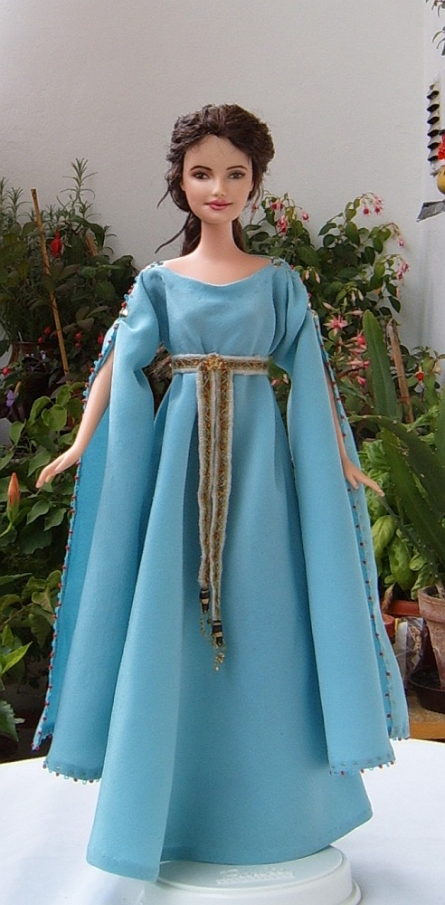 Guinevere from King Arthur movie - OOAK customized Barbie doll