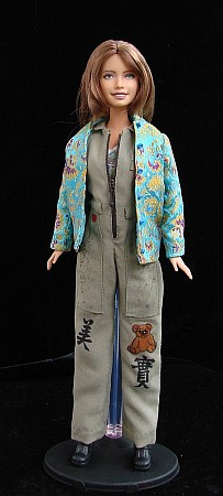 Kaylee from Firefly - ooak costume for Barbie doll