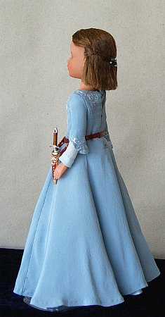 Lucy Pevensie From Chronicles Of Narnia Ooak Doll
