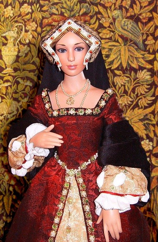 Tudor gown for a doll