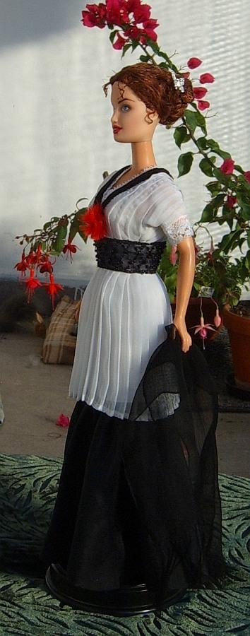 Rose Dewitt Bukater Ooak Doll From Titanic Elevator Dress