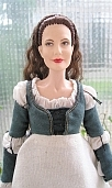 ever after danielle  de barbarac work dress ooak doll