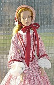 ooak victorian day dress  for Tyler Wentworth doll