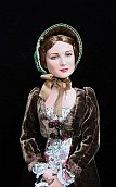"Evangeline - regency walking dress for 16"" Tonner doll"