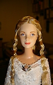 Galadriel mirror dress ooak doll