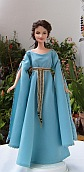 Guinevere OOAK Barbie doll from King Arthur movie