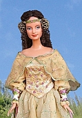 Padme Amidala - OOAK Picnic dress for Barbie doll