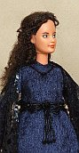 "Padmé Amidala  black OOAK dress for 12"" Barbie doll"