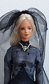 Madly sad princess  ooak customized Barbie doll