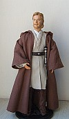 "Obi-wan Kenobi - OOAK customized 12"" doll/figure"