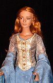 "Eowyn Victory gown for 16"" doll OOAK"